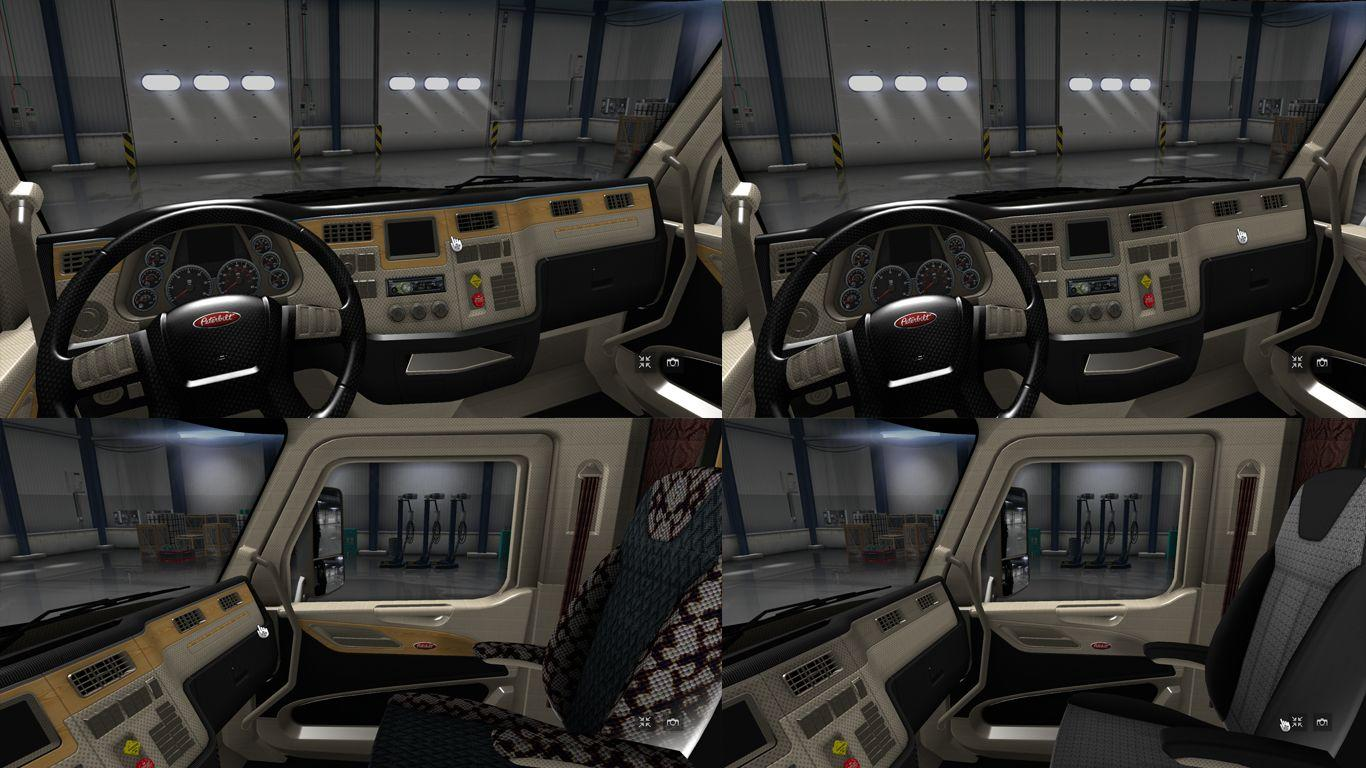 Peterbilt 579 Interior Ats Mods