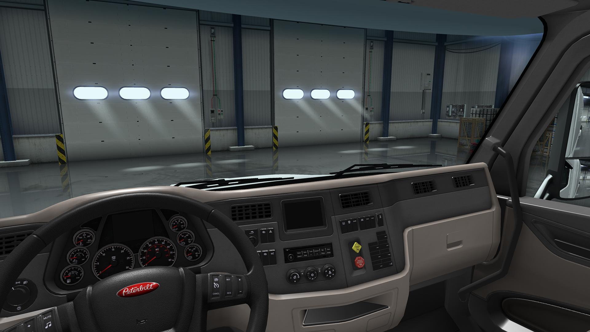 Peterbilt 579 Interior Exterior Rework V1 Ats Mods