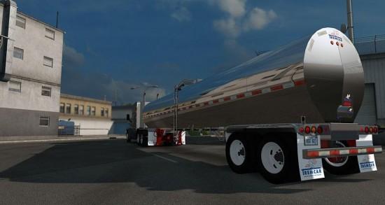 ATS Standalone Tremcar Milk Tanker
