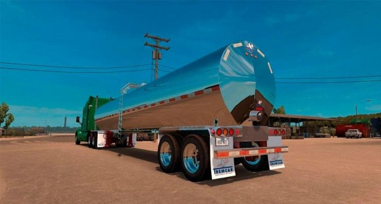 ATS Tremcar milk trailer fixed