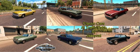 Classic Cars AI Traffic Pack by Jazzycat  v1.11