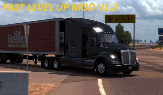 Fast Level Up mod V Final