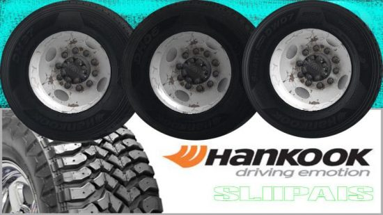 Hankook Truck Tires v1.2