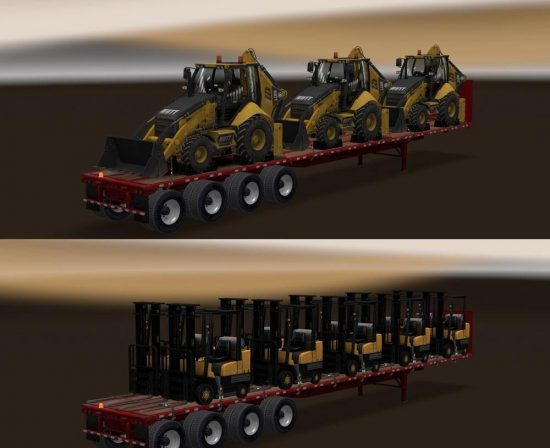 Long Flatbed Machinery Pack