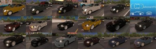 NFS Most Wanted traffic pack update v1.11