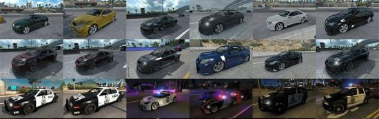 NFSMost Wanted traffic pack update v1.1