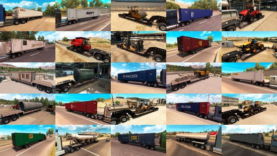 Trailers and cargo pack by Jazzycat v1.1