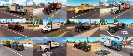 Truck Traffic Pack by Jazzycat  v1.44