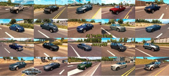 AI Traffic Pack by Jazzycat v1.5