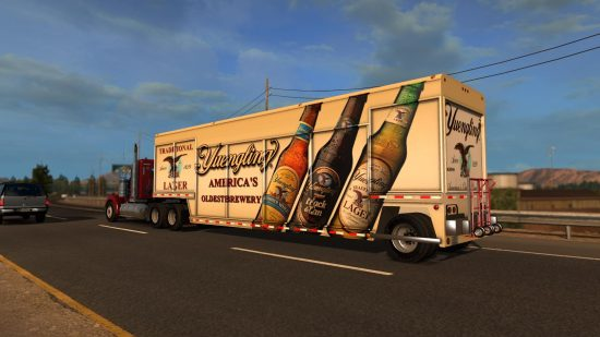 Beverages Trailer 18Wos