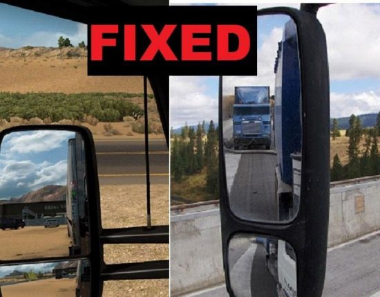 Mirror Field of View – Fixed