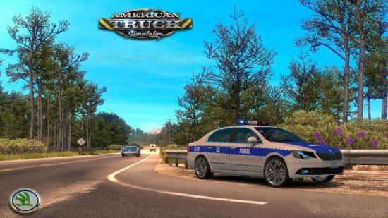 SH SKODA CAR (POLICE ) v1.2