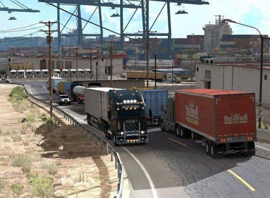 Traffic Mod – More trucks on road