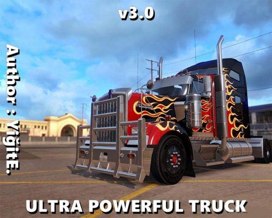 Ultra Powerful American Truck v3