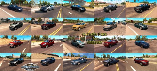 ets2 AI Traffic Pack by Jazzycat  v1.5.1