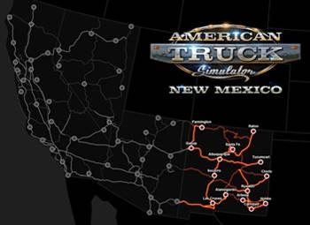 New Mexico DLC + ATS 1 29 update | ATS Mods
