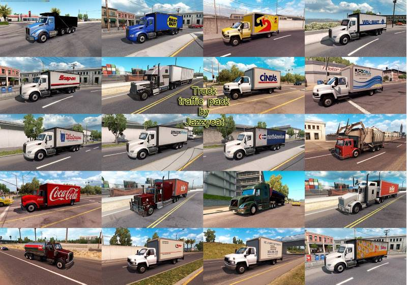 ats Truck Traffic Pack Jazzycat