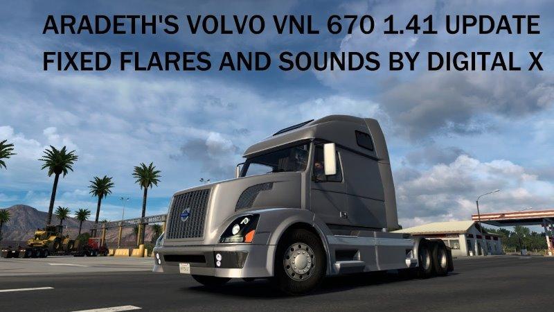 ATS Volvo VNL 670 Aradeth