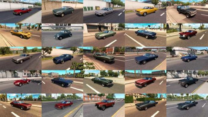 Classic Cars AI Traffic Pack by Jazzycat v4.7