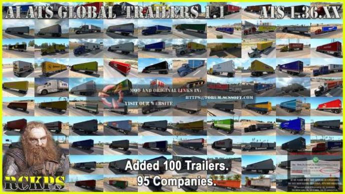 AI ATS Global Trailes Rckps 1.1 For 1.36