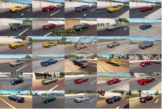ats classic cars traffic mod