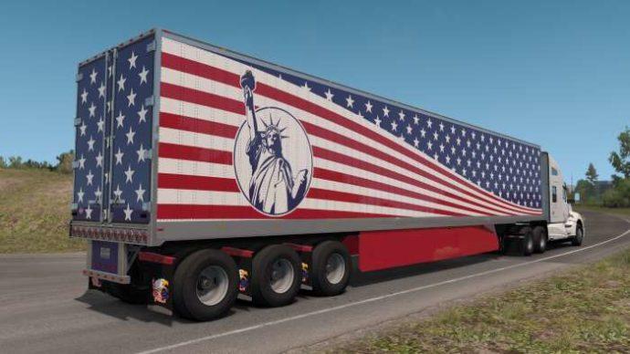 Custom 53' trailer