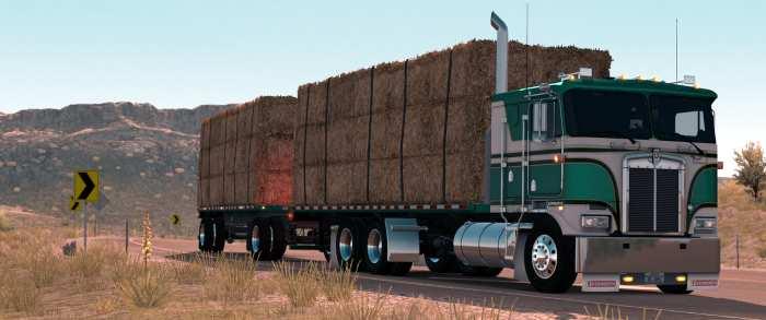 k100 flatbed in american truck simulator