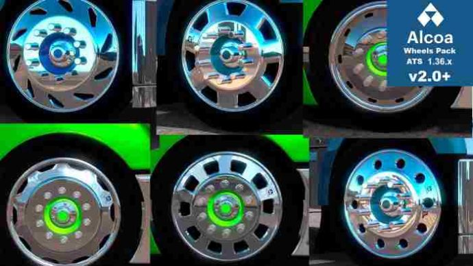 ats ALCOA HUGE WHEELS PACK
