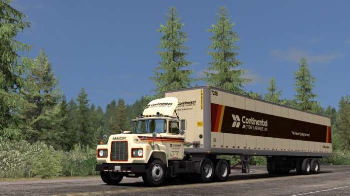 Continental Motor Carriers Skin ats