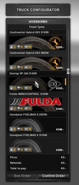 Real Tires Mod ats