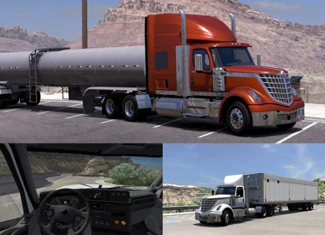 american truck internationa lonestar
