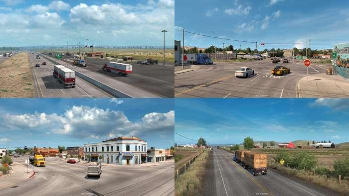 American Truck Simulator idaho dlc south