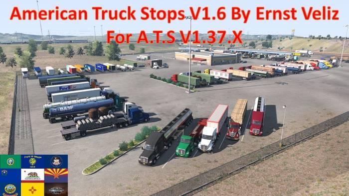 American Truck Stops v1.6