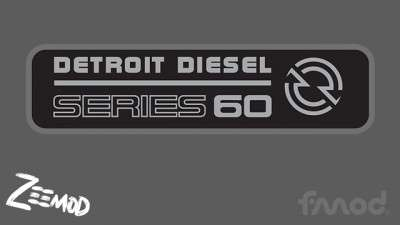 Detroit Diesel 60 Series Sound & Engine Pack 1.37