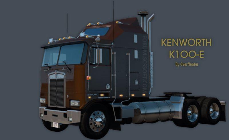 kenworth k100 truck mod
