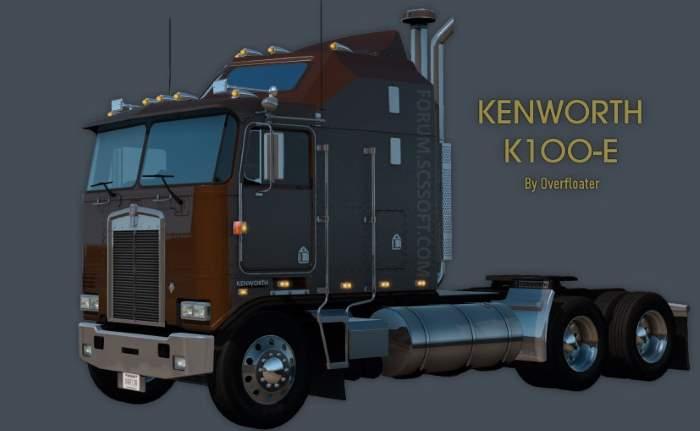 kenworth k100e american truck simulator