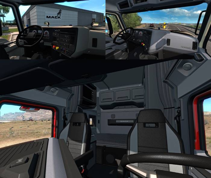 mack anthem interior