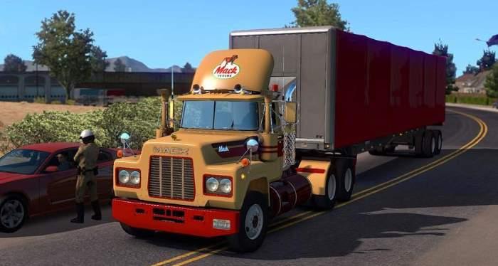 mack r truck mod in ats