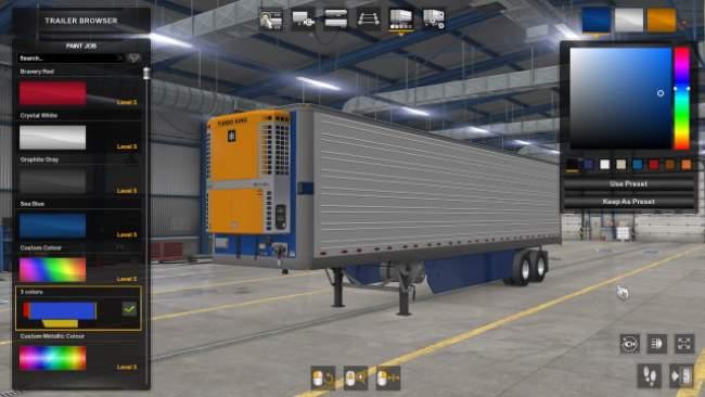 american truck simulator reefer