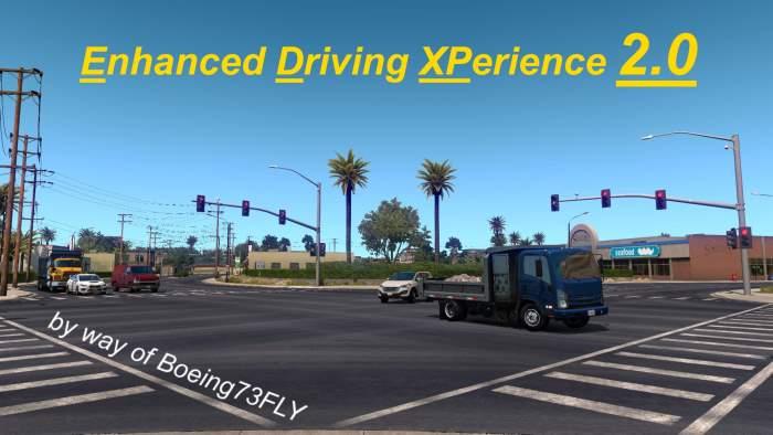 ats mod Enhanced Driving XPerience