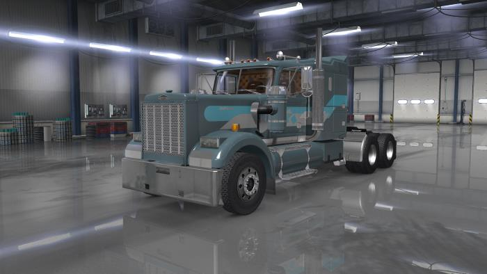 Autocar AT truck mod