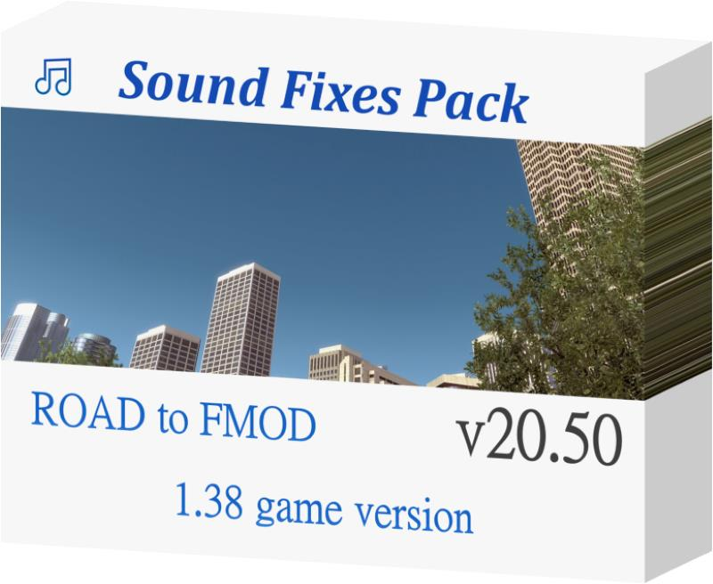 ats Sound Fixes Pack