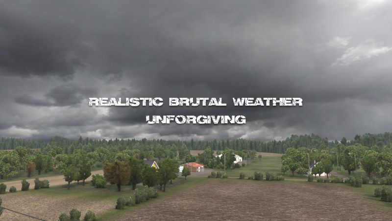 ats realistic weather mod