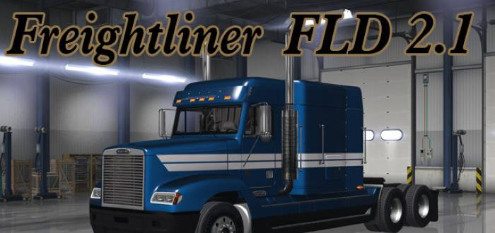 ats Freightliner FLD truck