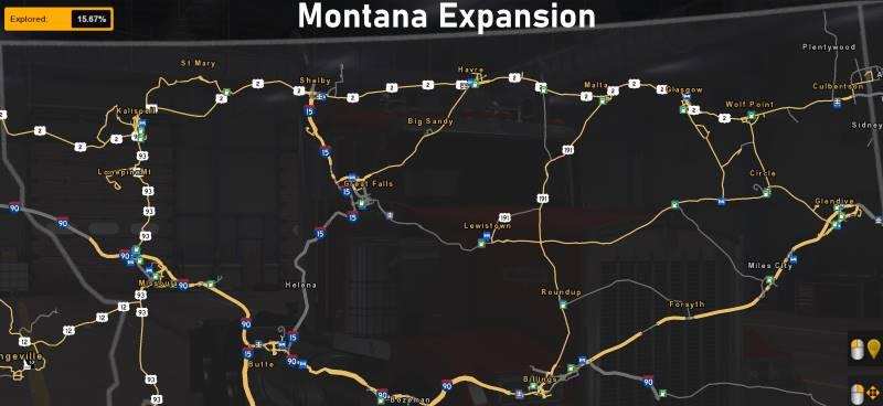 Montana expansion ets2
