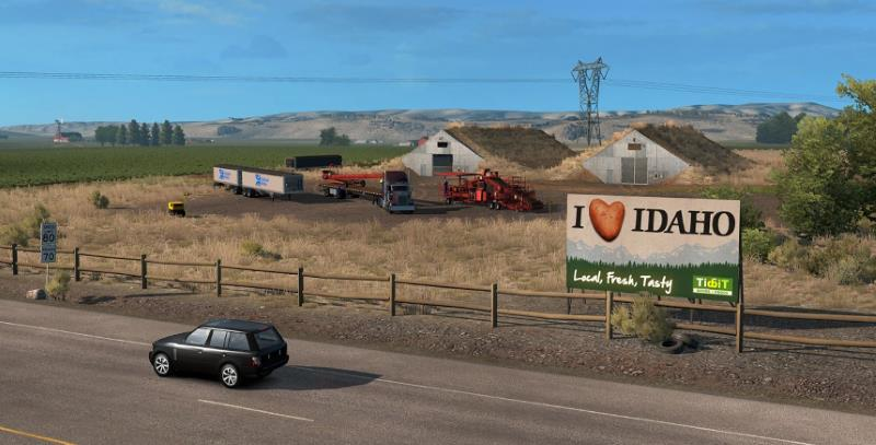 american truck simulator idaho dlc