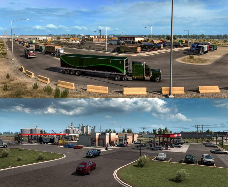 american truck simulator truck stop