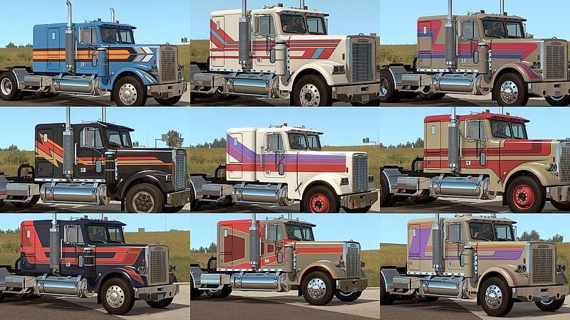 Freightliner FLC skin pack