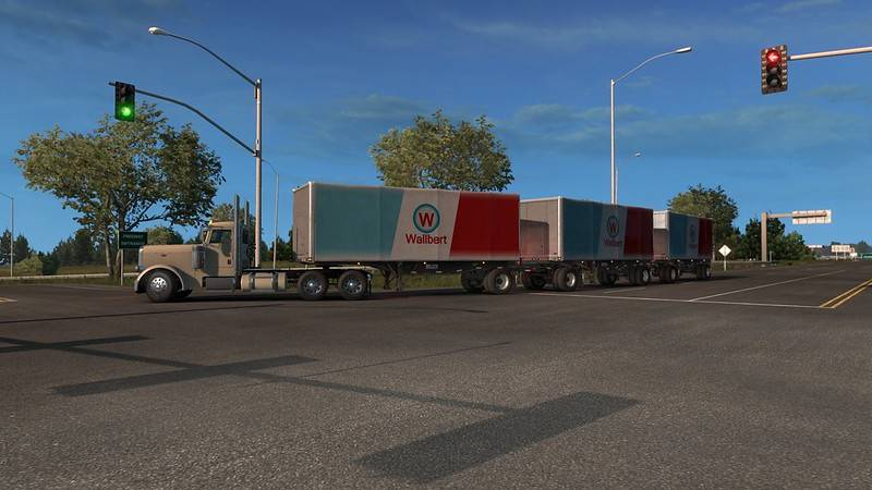 Multiple Trailers in Traffic