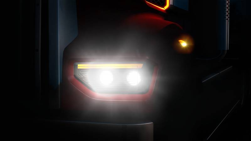 ats western star headlight